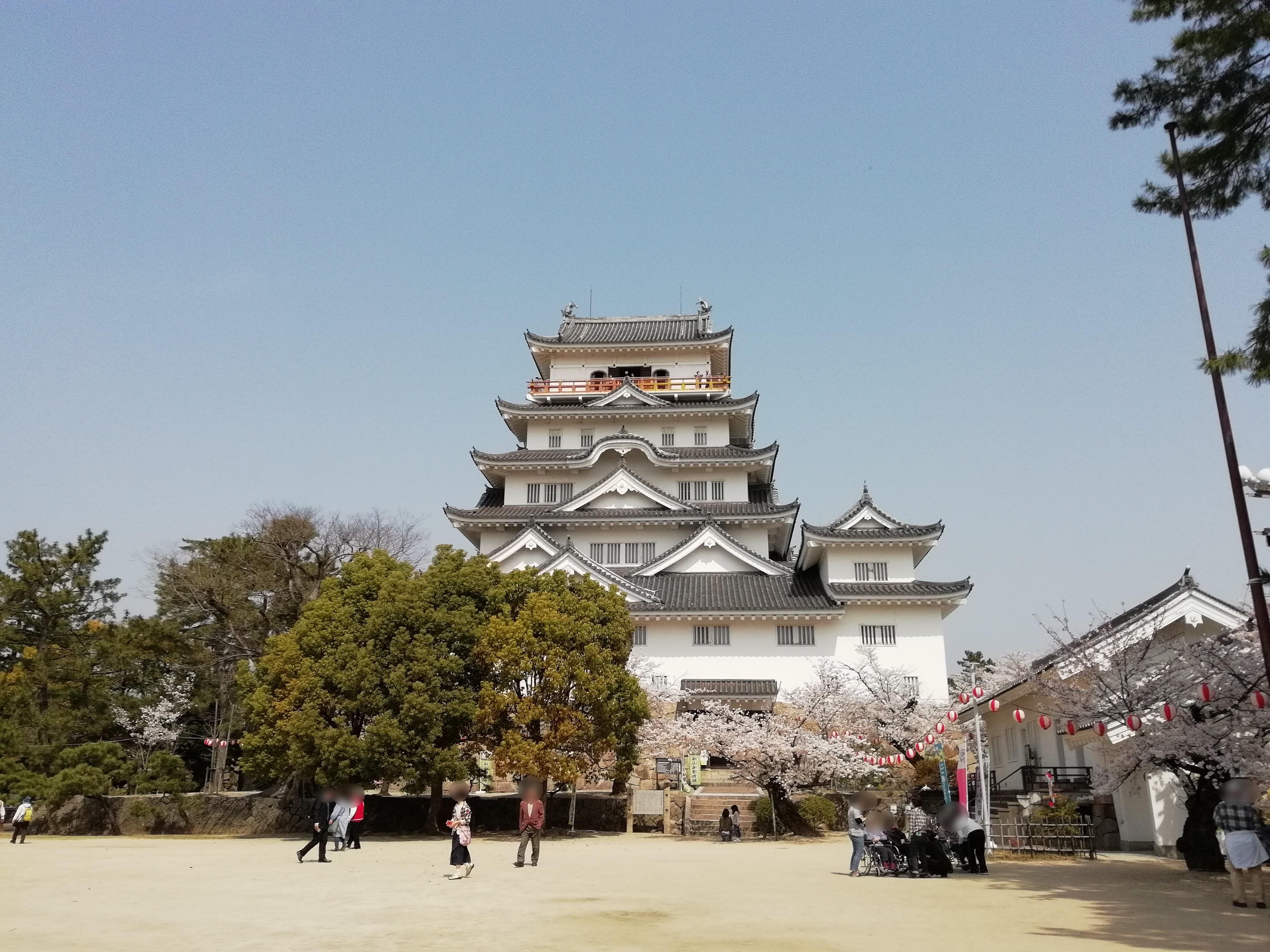 【100名城スタンプラリー】桜満開の広島県福山市の福山城へ