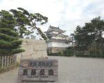 【100名城スタンプラリー】香川県高松市の高松城へ。海の魚が泳ぐお濠が面白い!
