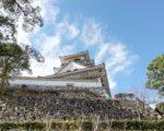 【100名城スタンプラリー】現存する天守・高知城へ。高知市街を見渡せる綺麗なお城